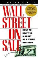 Wall Street on Sale