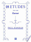 18 Etudes for the Clarinet