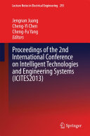 Proceedings of the 2nd International Conference on Intelligent Technologies and Engineering Systems (ICITES2013)