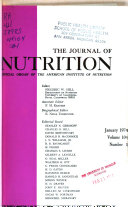 The Journal of Nutrition Book PDF