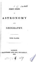 First Steps To Astronomy And Geography Book