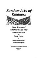 Random Acts of Kindness Book