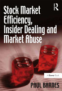Pdf Stock Market Efficiency, Insider Dealing and Market Abuse Telecharger