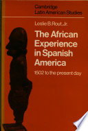 The African Experience in Spanish America Book PDF