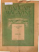 The Graduate Magazine of the University of Kansas