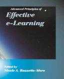 Advanced principles of effective e learning