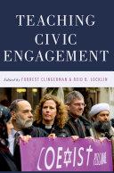 Pdf Teaching Civic Engagement