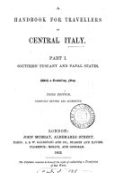 Handbook for Travellers in Central Italy ...