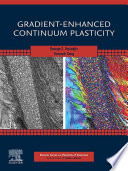 Gradient-Enhanced Continuum Plasticity