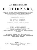An Irish English Dictionary