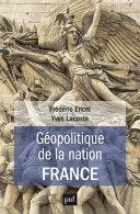 Pdf Géopolitique de la nation France Telecharger