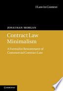 Contract Law Minimalism