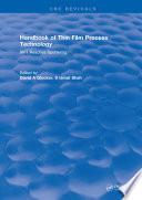 Handbook of Thin Film Process Technology