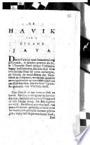 De Havik Van T Eiland Java