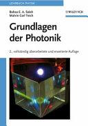 Grundlagen der Photonik