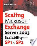 Microsoft   Exchange Server 2003 Scalability with SP1 and SP2