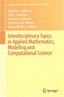 Cover image of Interdisciplinary Topics in Applied Mathematics, Modeling and Computational Science