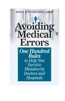 Avoiding Medical Errors