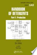 Handbook of Detergents  Part F