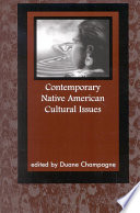 Contemporary Native American Cultural Issues Book