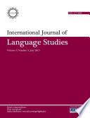 International Journal Of Language Studies Ijls Volume 9 3
