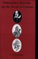 Shakespeare, Harsnett, and the Devils of Denham Pdf/ePub eBook