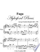 Read Online Fuga Aylesford Pieces - Easy Piano Sheet Music For Free