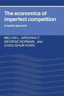 The Economics of Imperfect Competition