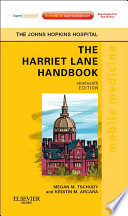 The Harriet Lane Handbook Book