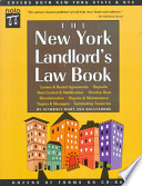 The New York Landlord's Law Book