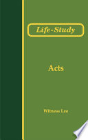Life Study Of Acts