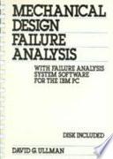 Mechanical Design Failure Analysis Book PDF