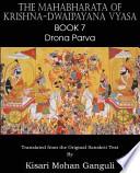The Mahabharata of Krishna-Dwaipayana Vyasa Book 7 Drona Parva