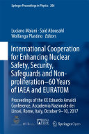 Pdf International Cooperation for Enhancing Nuclear Safety, Security, Safeguards and Non-proliferation–60 Years of IAEA and EURATOM Telecharger