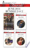 Harlequin Presents June 2014   Bundle 2 of 2