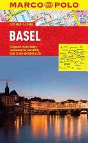 Basel Marco Polo Laminated City Map