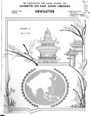 Newsletter   Association for Asian Studies  Committee on East Asian Libraries