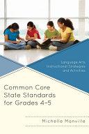 Common Core State Standards for Grades 4-5 Pdf/ePub eBook