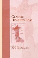 Genetic Hearing Loss Pdf/ePub eBook