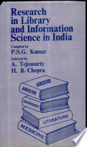 Research in library and information science in india