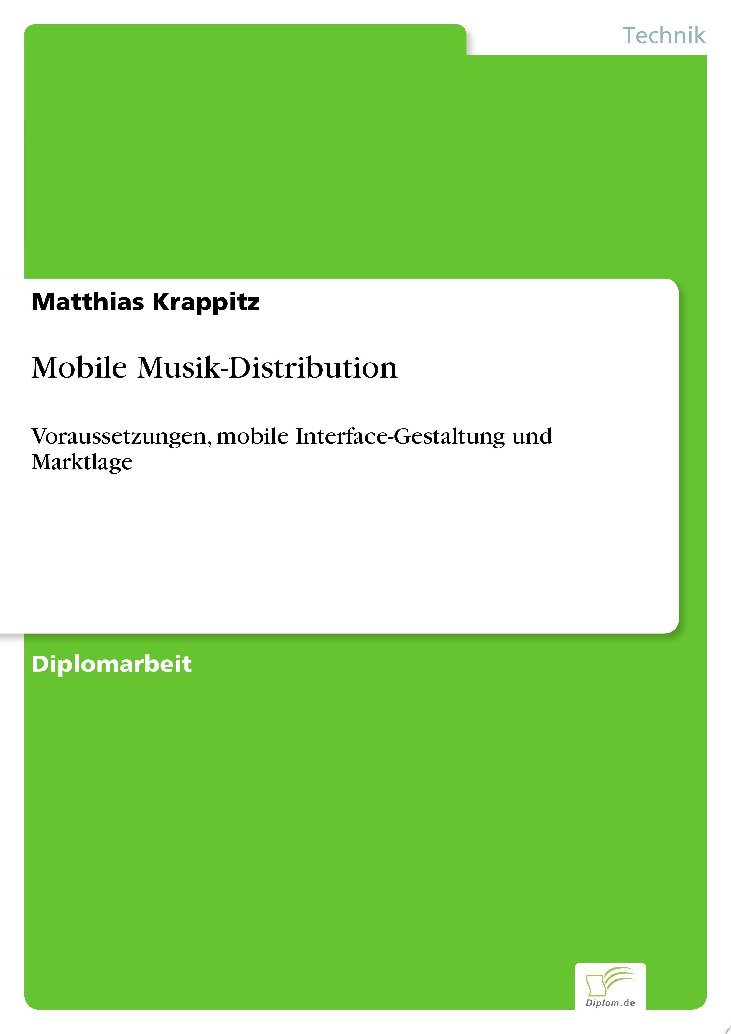 Mobile Musik Distribution