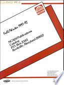 Ncadi Publications Catalog