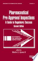 Preparing for FDA Pre Approval Inspections Book