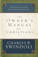 The Owner s Manual for Christians
