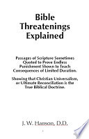 Bible Threatenings Explained