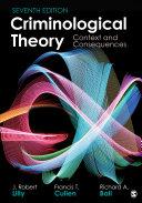 Criminological Theory Pdf/ePub eBook