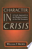 Character in Crisis Book