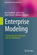 Enterprise Modeling Pdf/ePub eBook