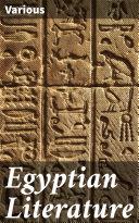 Egyptian Literature Pdf/ePub eBook