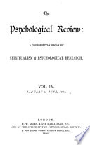 The Psychological Review